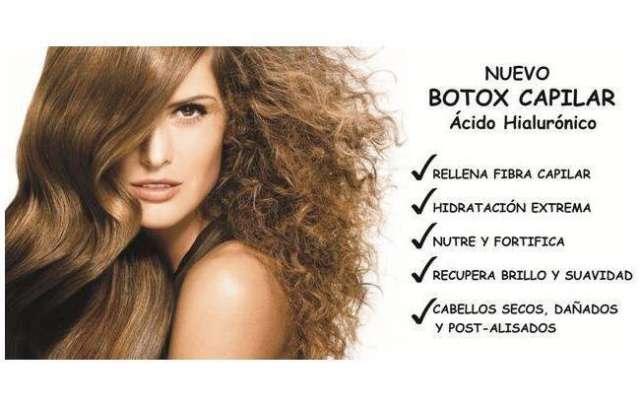 Botox capilar y alisado de keratina!!
