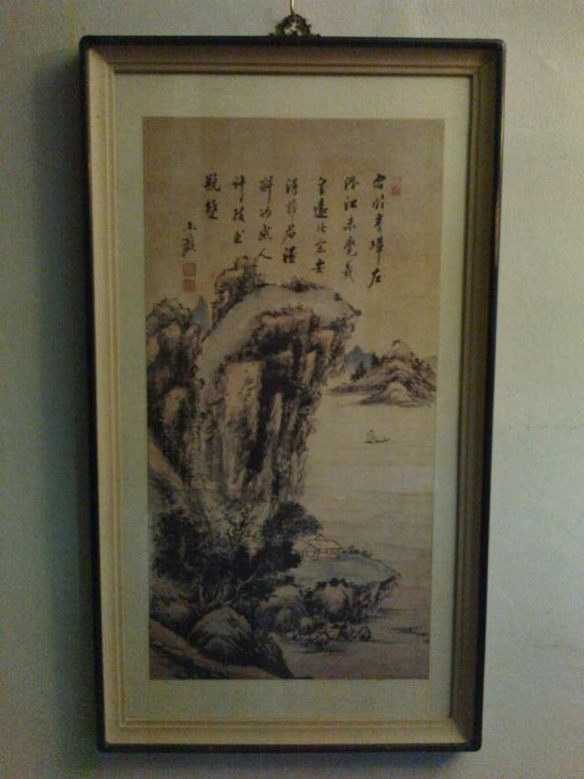 Vendo exquisita pintura china