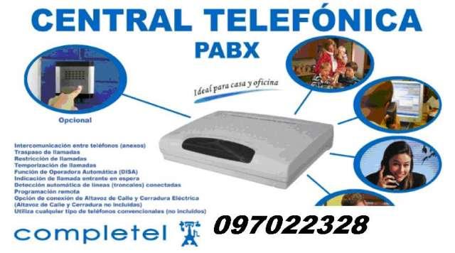 Centrales telefónicas programación mantencion
