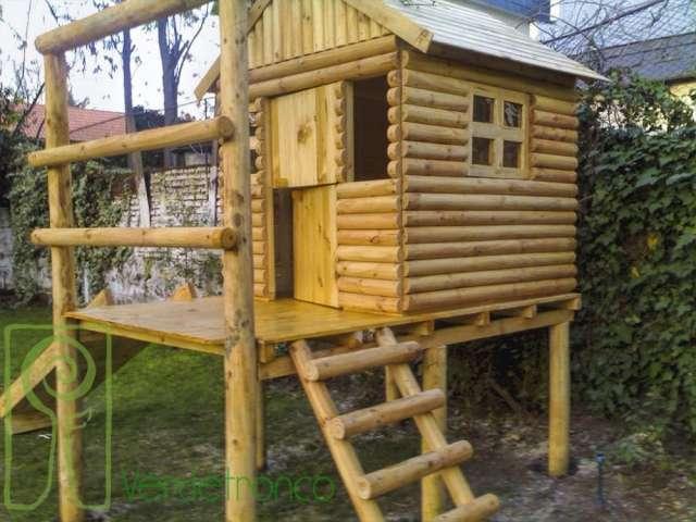 Juegos Infantiles De Madera Planing Juego Casa Jardin Infantil - Casa-de-juegos-infantiles