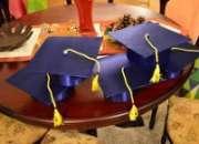 Birretes de graduacion - licensiaturas