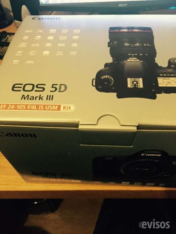 Canon eos 5d mark iii digital slr com ef 24-105mm