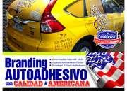BRANDEO ADHESIVO PUBLICITARIO DE VEHICULOS - Grafica24.cl