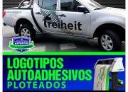 LOGOTIPOS AUTOADHESIVOS PLOTEADOS