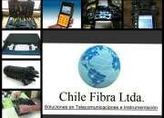 Servicios de fibra óptica.