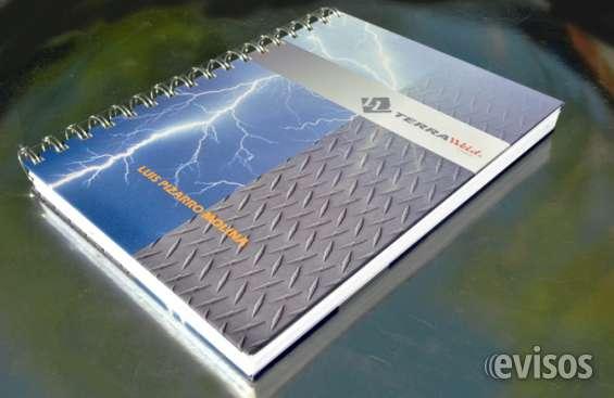 Cuadernos personalizados diseñados exclusivamente para ud.