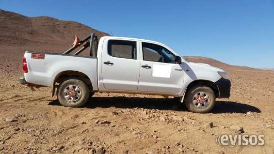 Se vende camioneta toyota hilux doble cabina 4x4