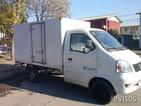 Arriendo camioneta cerrada con cofer especil reparto
