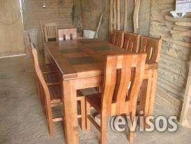 Comedores de madera nativa en Malloa - Muebles | 600461