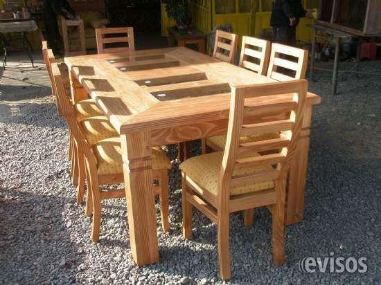 Comedores de madera nativa en Malloa - Muebles   600461