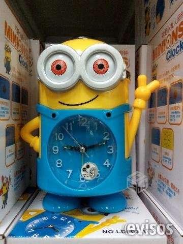 Reloj despertador minions