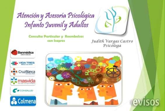Psicóloga clínica infanto juvenil y adultos