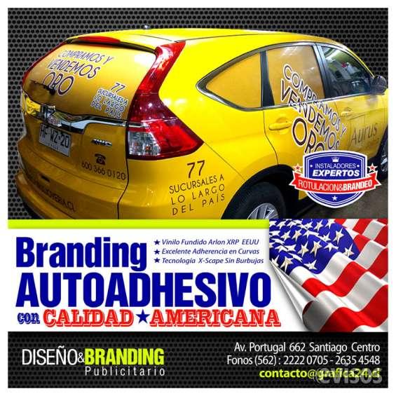 Branding publicitario y rotulacion de vehiculos comerciales