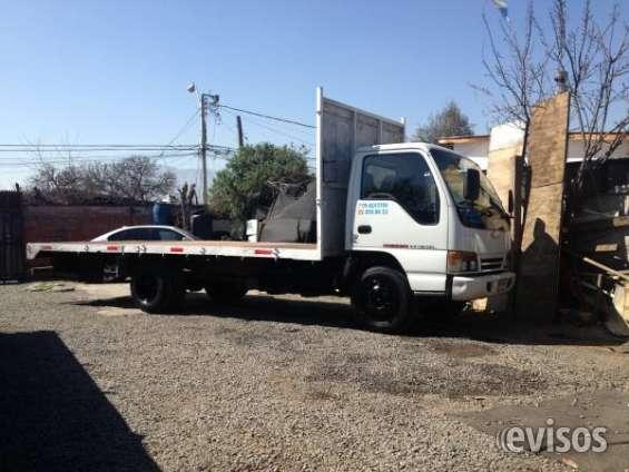Vendo camion plano chevrolet 4.3 npr. 1997