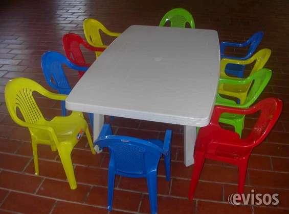 Arriendo mesas y sillas para eventos de niños y adultos