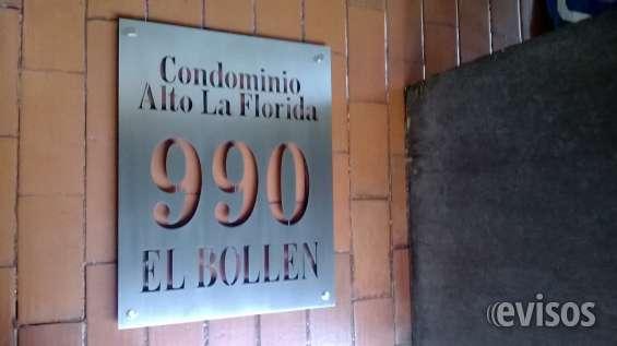 Placas de acero inoxidable con números y letras caladas para condominios, edificios, casas