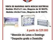 MATAMOSCAS ELECTRICOS ULTRAVIOLETA