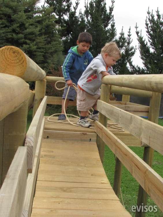 Juegos De Madera Impregnada En Limache Decoración Y Jardín