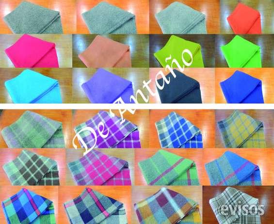 Manta de alpaca carta de colores