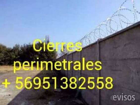 Divisiones de sitios -- cierres perimetrales