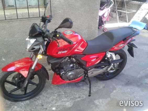 Vendo mi moto año 2014
