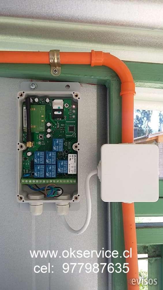 Apertura via celular para portones automaticos v region cel: 977987635