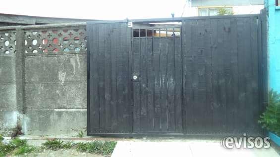 Porton corrediso las casas tienen entrada y salida hacia atras