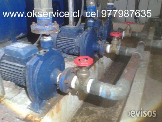 Servicio tecnico bombas de agua, riego, hidropack. cel 977987635 v region