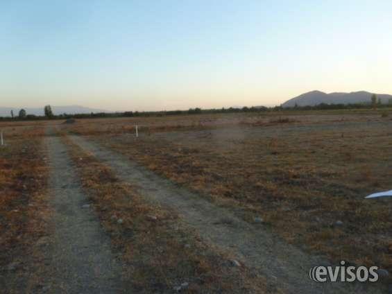 Parcelas de agrado ubicadas en comuna de olivar