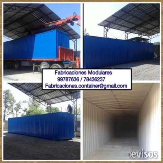 Bodegas container modulares reforzadas