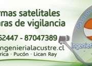 Alarmas camaras vigilancia pucon villarrica +56987047389