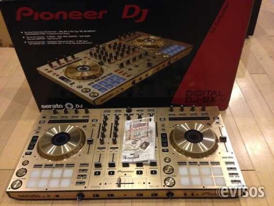 Pioneer ddj-sx controlador por $430usd / pioneer ddj-sx2 por $500us / pioneer xdj-rx