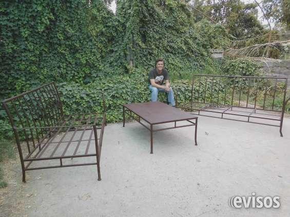 Muebles ierro forjado terraza esilo indusrial 991061207