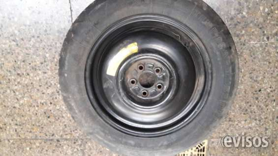 Neumático firestone temporary con llanta 145-80-r-16 impecable.