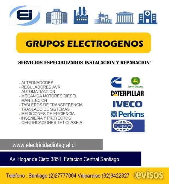 Reparacion grupos electrogenos