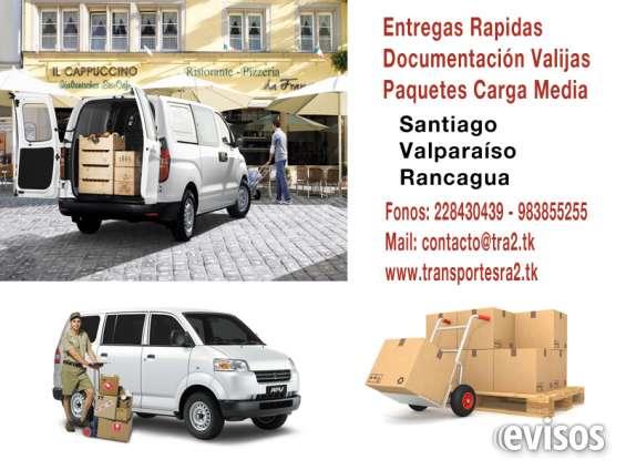 Despachos transportes fletes entregas logistica santiago ra2