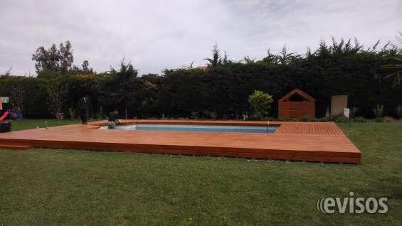 Deck de madera terraza de madera
