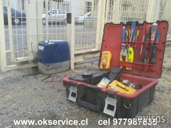 Portones automaticos, servicio tecnico a domicilio v region