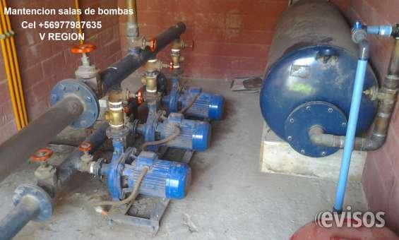 Servicio tecnico salas de bombas, hidropack vregion cel+56 977987635