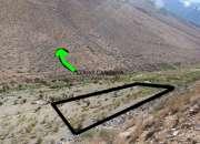 Terreno cochiguaz, sector río mágico