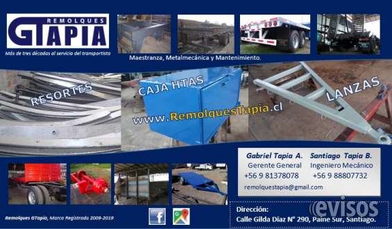 Reparación de remolques y carrocerías
