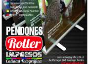 Pendones Roller Impresos Full Color 1440 Dpi