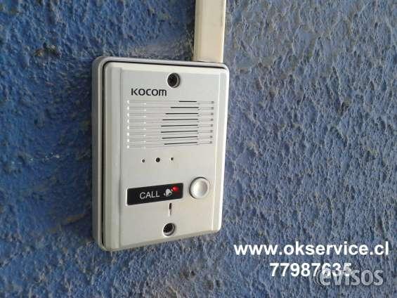 Citofono , chapa electrica, video portero, servicio tecnico v region