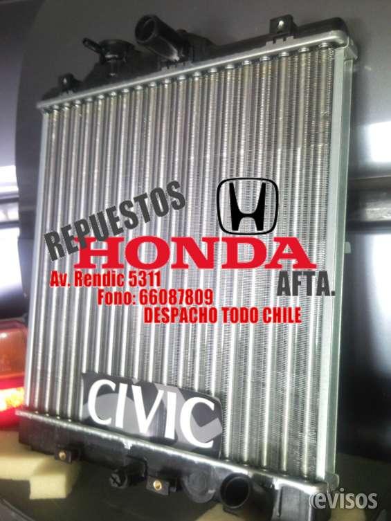 Honda radiador nuevo civic