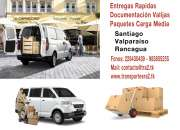 Vehiculos conductores calificados camionetas furgones fletes transportes rapidos seguros
