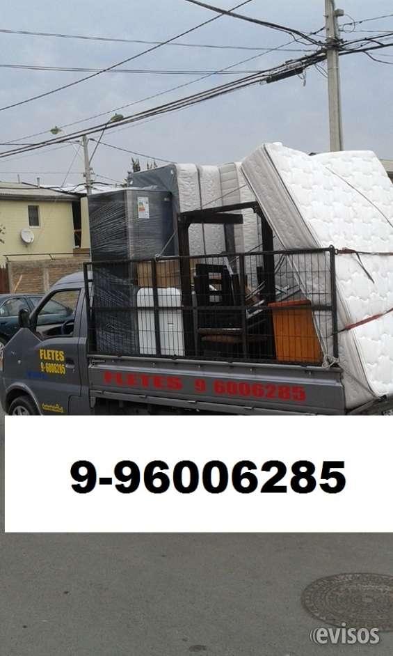 Fletes baratos económicos mini mudanzas 996006285