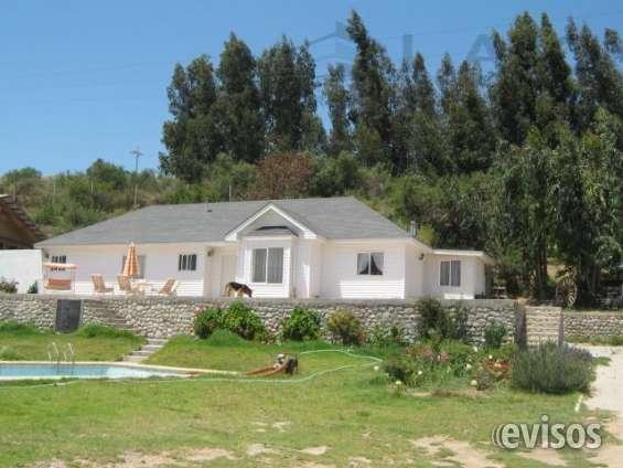 Espectacular y amplia casa con 5.000m2 terreno camino al valle del elqui
