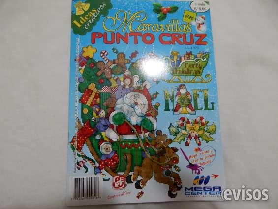 Revista bordar punto cruz, nueva $ 4.000
