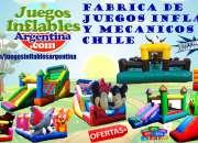Juegos Inflables Tobogan Castillos Somos Fabrica !!!