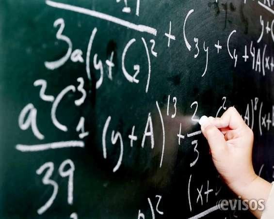 Clases particulares de álgebra a a domicilio